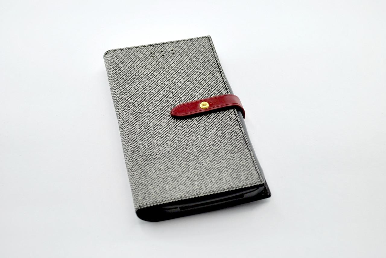 Чехол-книжка для телефона 4you BELT iPhone 5 grey