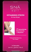 Восковые полоски для депиляции удаления волос на теле 28 шт. SNA EPIL 28005