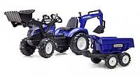 Детский трактор на педаляхFalk 3090W New Holland
