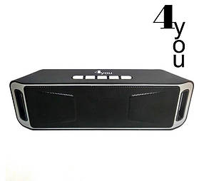 Портативная колонка BT506 4you (bluetooth, Micro SD, USB, FM) black/grey