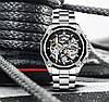 Механические часы Forsining Skeleton (silver), фото 2