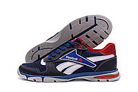 Чоловічі кросівки літні сітка Reebok Street Style Blue (репліка), фото 1