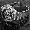 Механические часы Forsining Skeleton (silver), фото 3
