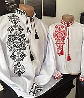 """Вишиті сорочки для батька та сина """"Роман"""""""
