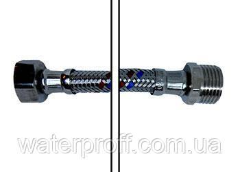 Шланг в оплетке вода L 100 ГШ Gross, фото 2