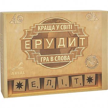 Настольная игра Arial Ерудит-Еліт (укр.) 910220, Оригинал