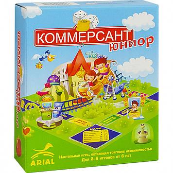Настольная игра Arial Коммерсант-юниор 911043, Оригинал