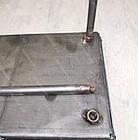 Мангал 3 мм на Вогник розкладний в валізу з чохлом і шампурами з дерев'яною ручкою 10 шт, фото 6
