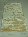 Індійські килими з віскози, товсті м'які килими, однотонні килими, фото 3