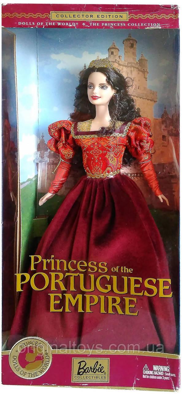 Коллекционная кукла Барби Принцесса Португальской империи Barbie Princess of the Portuguese Empire 2002