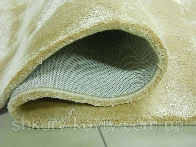 Індійські килими з віскози, товсті м'які килими, однотонні килими