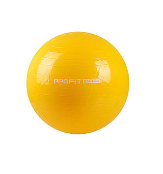 Мяч для фитнеса - 65см. MS 0382 ((Желтый)), Оригинал
