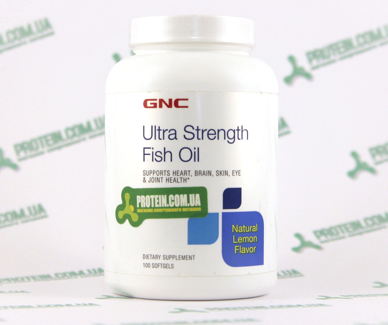 Риб'ячий Жир USA ORIGINAL!!! GNC Ultra Strength Fish Oil Omega 3 100 кап