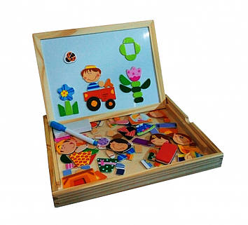 Деревянная игрушка Набор первоклассника MD2083 (A), Оригинал
