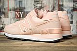 Кросівки жіночі 16828, New Balance 574, рожеві, [ 40 ] р. 40-25,0 див., фото 4