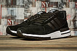 Кроссовки мужские 16841, Adidas черны, [ 44 45 ] р. 44-28,0см., фото 2