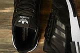 Кроссовки мужские 16841, Adidas черны, [ 44 45 ] р. 44-28,0см., фото 5