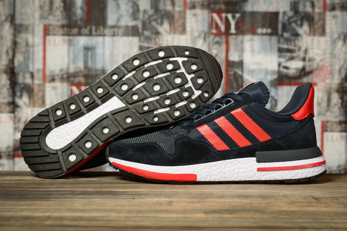 Кроссовки мужские 16845, Adidas, темно-синие, < 45 > р. 45-28,8см.