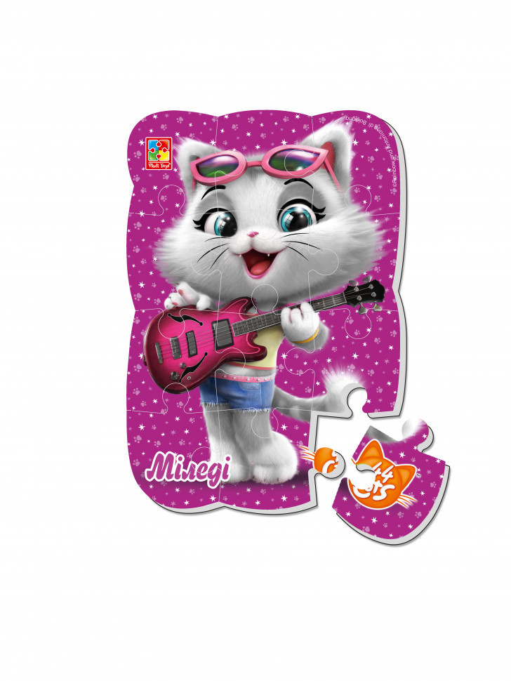"""Пазлы магнитные А5 """"44 Cats"""" VT3205 (""""Миледи"""" (укр)), Оригинал"""