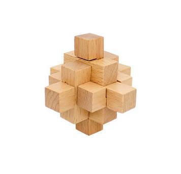 Деревянная игрушка Головоломка MD 2056 (Ананасовый узел MD 2056-8), Оригинал