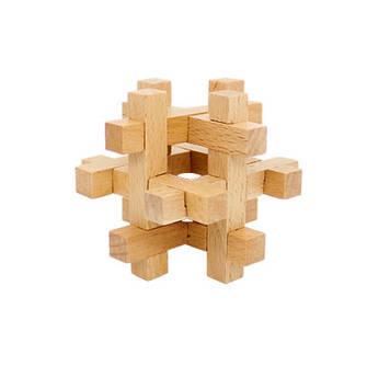 Деревянная игрушка Головоломка MD 2056 (КлеткаMD 2056-9), Оригинал