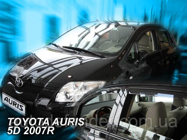 Дефлекторы окон (вставные!) ветровики Toyota Auris I 2007-2012 4шт., HEKO, 29390