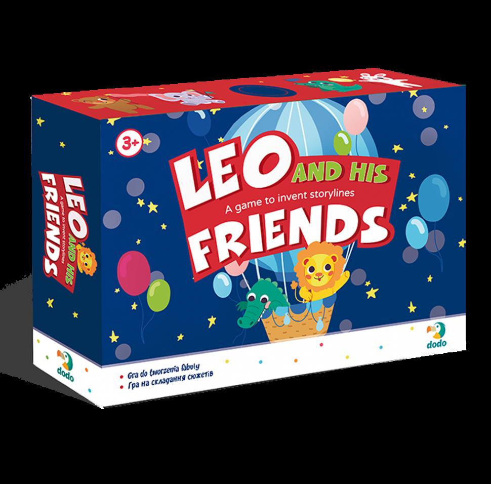 """Игра на составление сюжета """"Лео и его друзья"""" 300210, Оригинал"""