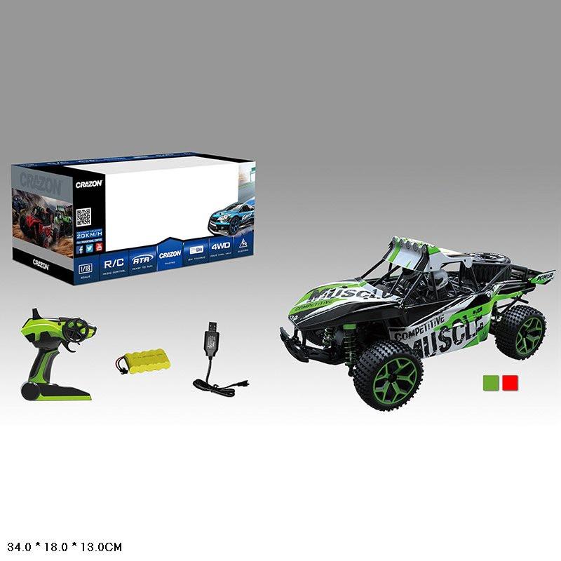 Машина р/у CRAZON 17GS03B (Зелёный), Оригинал