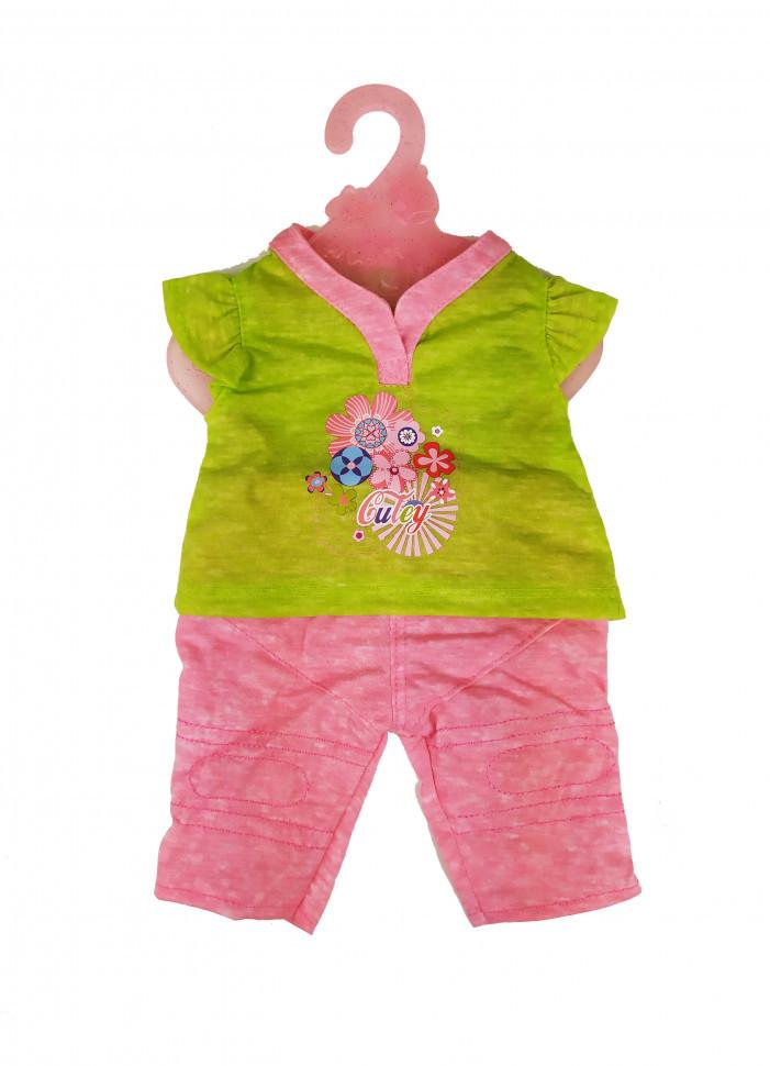 Кукольный наряд DBJ-455-468 (Салатовый с цветами), Оригинал