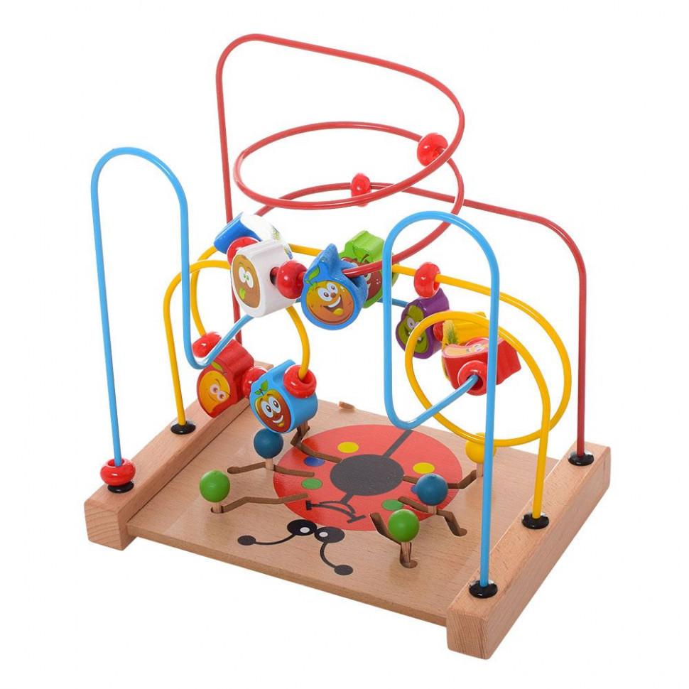 Деревянная игрушка Лабиринт MD 1101 (Жук), Оригинал