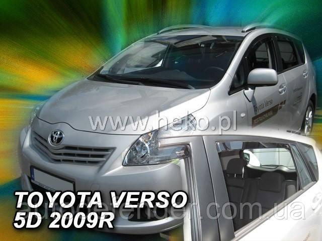 Дефлекторы окон (вставные!) ветровики Toyota Verso 2009-2018 4шт., HEKO, 29618