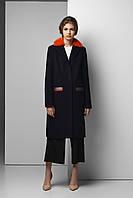 Зимнее кашемировое пальто с норкой Raslov 954