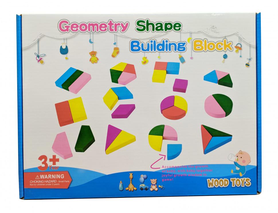 Деревянная игрушка Геометрика MD 2329 (2329A), Оригинал