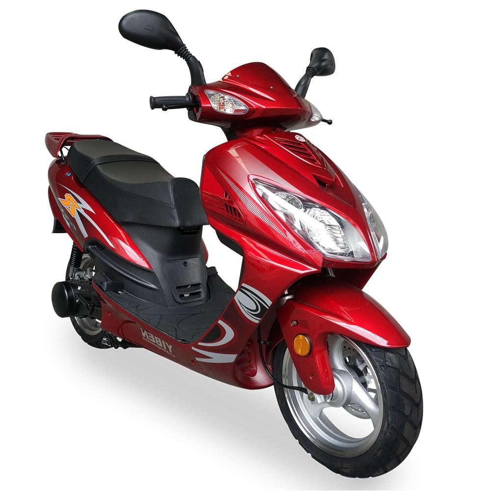 Скутер FADA YB150T-15D Красный