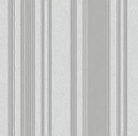 Обои плотные бумажные  0,53*10,05 Эко  полоса серая