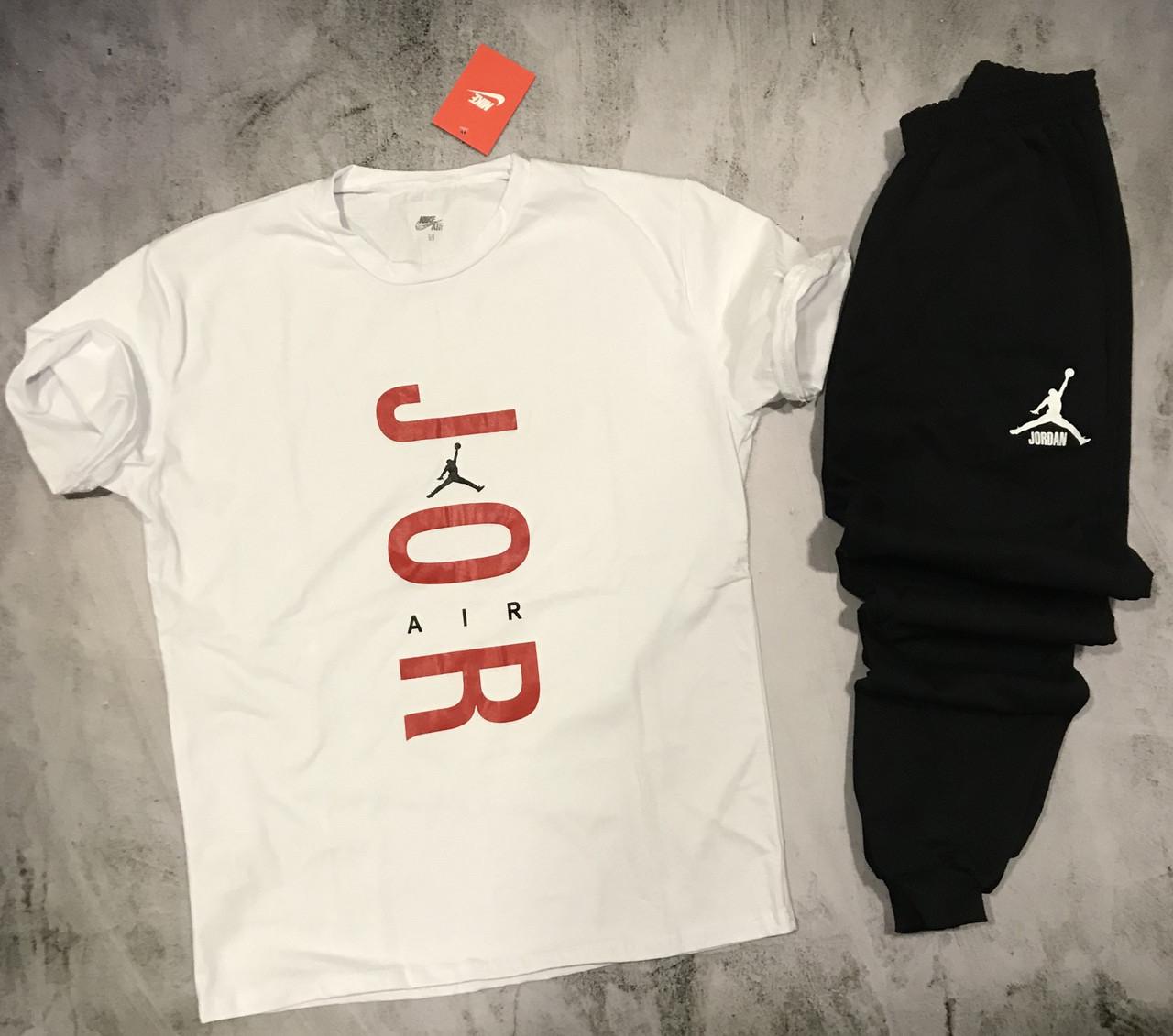 Мужской спортивный костюм(футболка + штаны) Nike Jordan Air