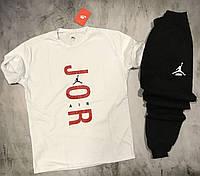 Мужской спортивный костюм(футболка + штаны) Nike Jordan Air, фото 1