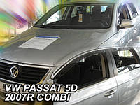 Дефлекторы окон (вставные!) ветровики Volkswagen VW Passat B6 2005-2010 4шт. variant, HEKO, 31170
