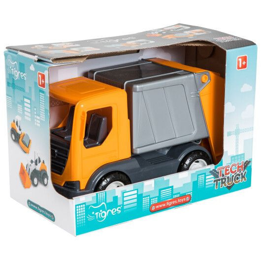 "Авто ""Tech Truck"" 39477 (Мусоровоз), Оригинал"