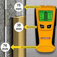 Мультисканер Floureon 3 в 1. Детектор скрытой проводки, металла и дерева