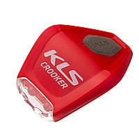 Мигалка передня Kls Crooker Red SKL35-238695