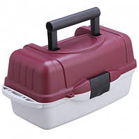 Ящик кейс рыболовный для снастей со съемными перегородками Stenson AQT-2701 39.5x19.5x19.5см 1 ярус