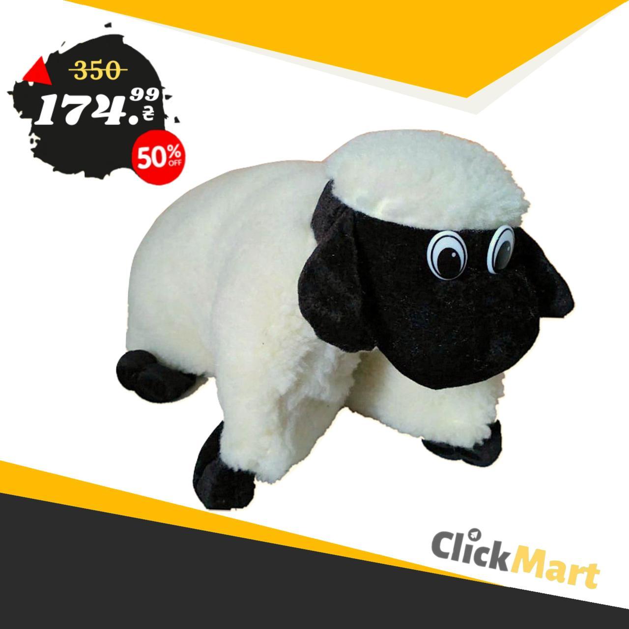 Подушка-игрушка Барашек Шон Размер 43х34 см