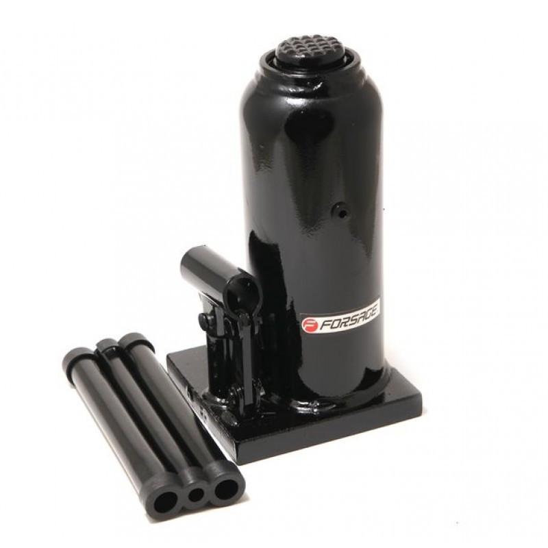 Домкрат бутылочный 10т с клапаном (h min 200мм, h max 385мм)