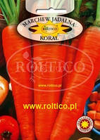 Морква Корал 20г (Польща, Roltico)