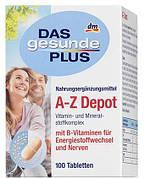 Витаминный комплекс в таблетках A-Z Depot 100 штук (Германия)