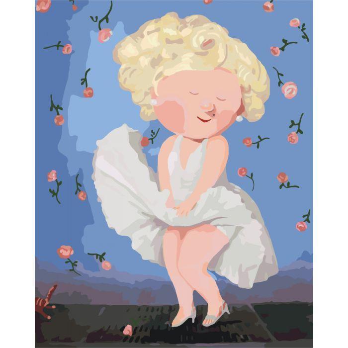 Картина по номерам Гапчинская - Мэрилин Монро