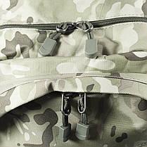 Рюкзак городской KAKA KA-666 Camouflage Green тактический USB для зарядки влагоотталкивающий потайной карман, фото 3