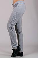 Женские трикотажные брюки светло-серые, фото 1
