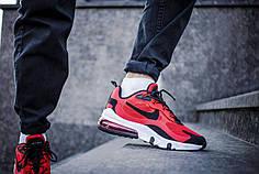 Мужские кроссовки Nike Air Max 270 React Red Black ( Реплика )